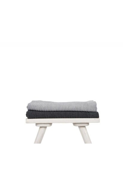 Blanket - Aiza - grey melange