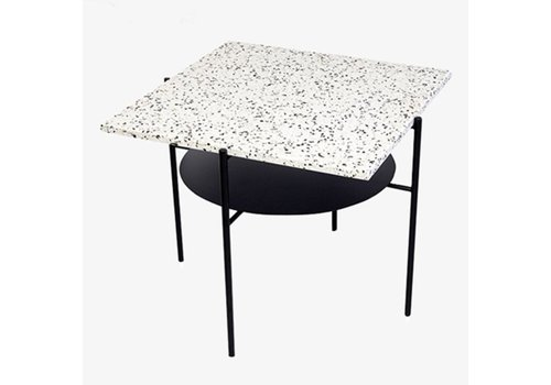 OK Design Confetti Coffee Table - Black + Black & White