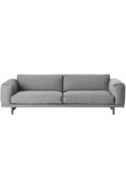 REST sofa : 3-seater - steelcut trio 133