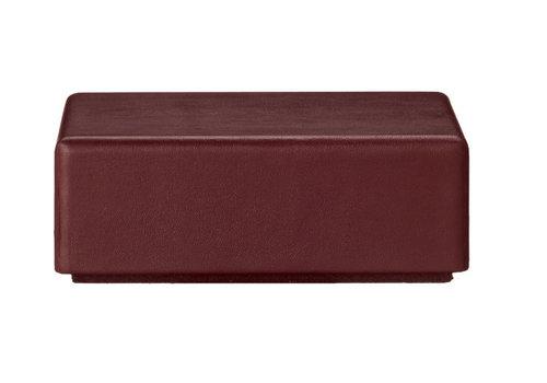 AYTM Theca box  - square - Bordeaux