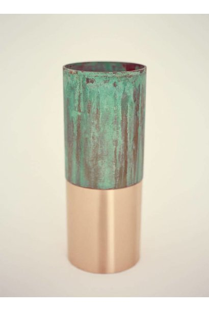 True Color Vase-LP3-green copper