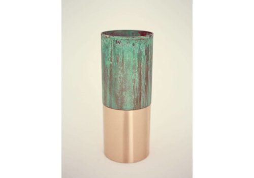 &Tradition LP3 - True Colour vase - green copper **