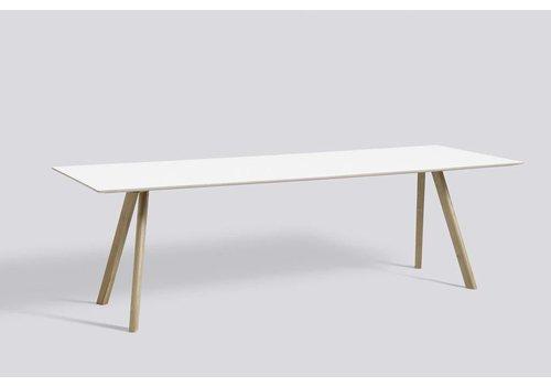 HAY Copenhague table CPH30 200 x 90, Oak soap + Lam White