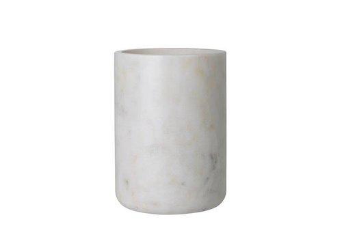Louise Roe Vase - Maya white marble