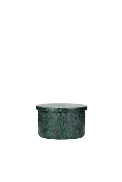 Gina bowl - Green marble - dia 7cm