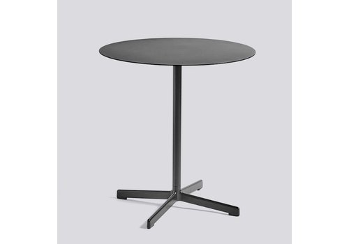 HAY Neu table - Round charcoal