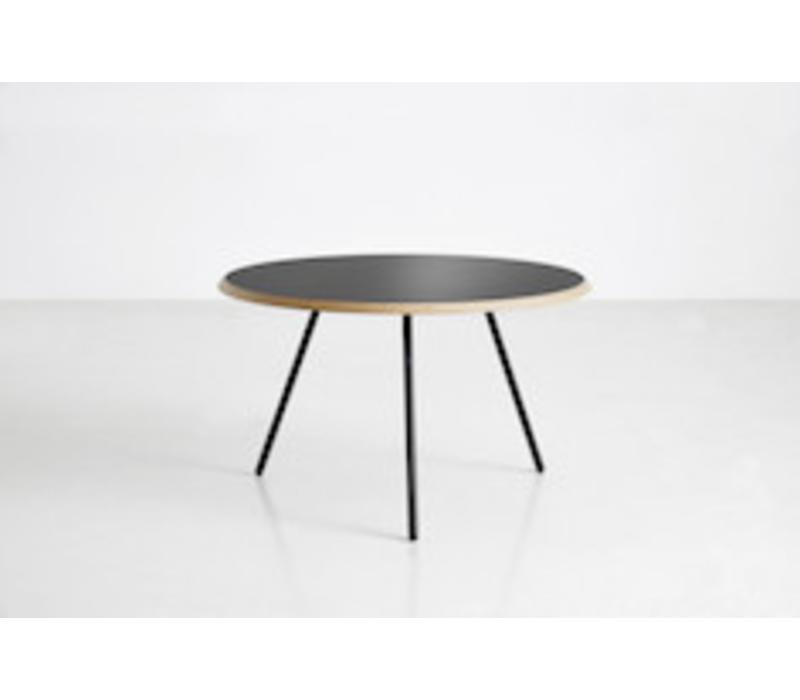 Soround coffee table - Black Fenix - dia75cm - H44cm