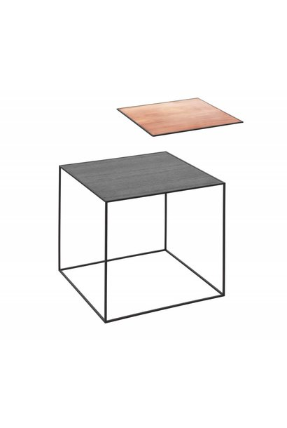 Twin 42 table - Black frame