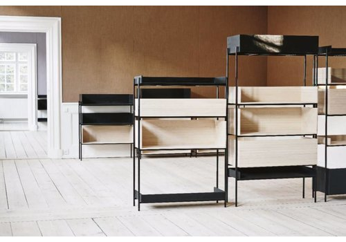 Skagerak vivlio shelf large