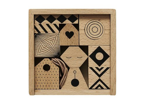 OYOY Puzzle Me - Mobile - Wood