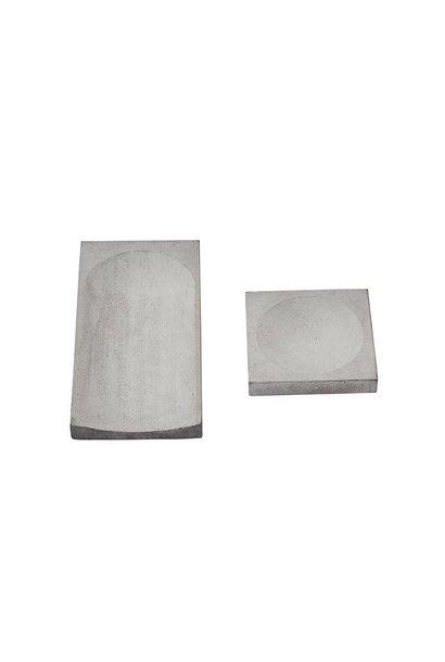 Concrete trays