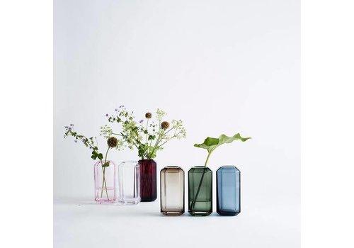 Louise Roe jewel vase - 8x8x16
