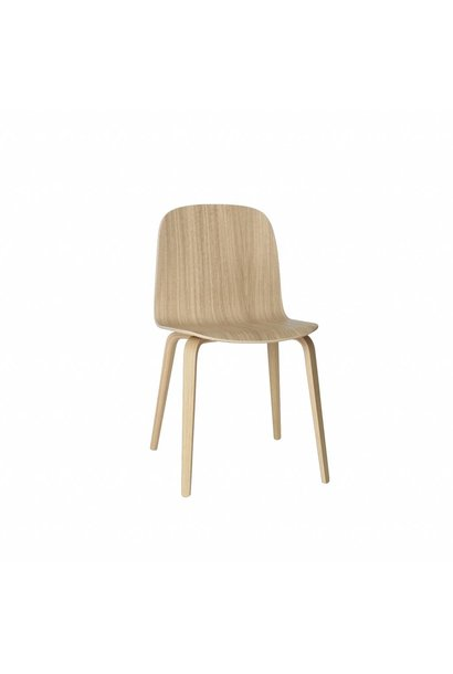 Visu chair wood base