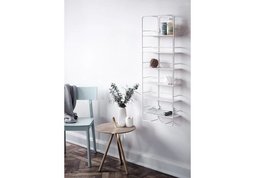 Woud Coup vertical shelf