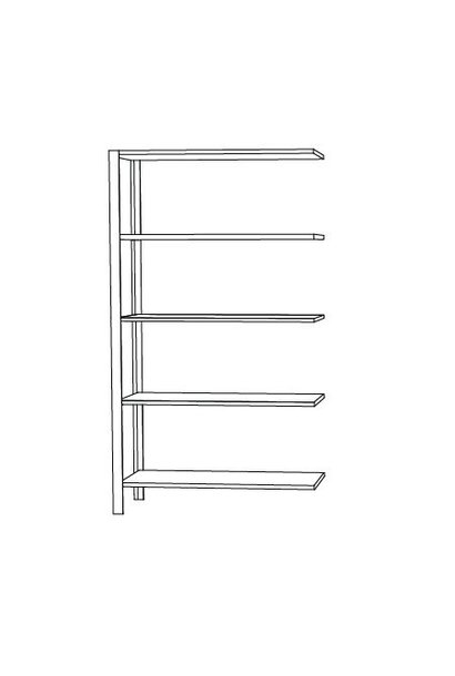 Omni shelving system - high extra
