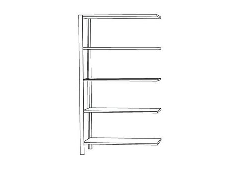 AYTM Omni shelving system - high double