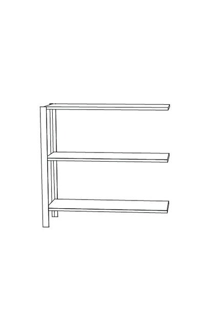 Omni shelving system - low extra