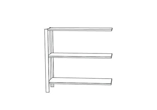 AYTM Omni shelving system - low extra