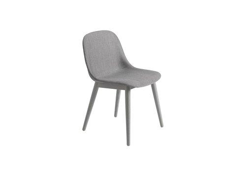 MUUTO Fiber side chair wood base fully upholstered