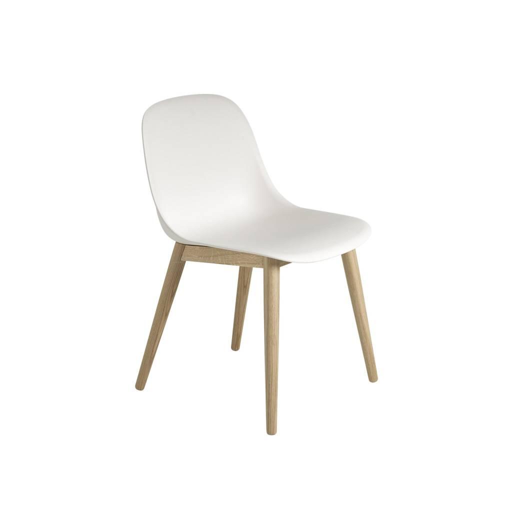 Fiber side chair wood base-6