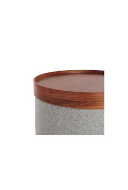 Drum Tray small Walnut