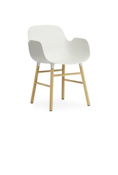 Form Armchair wooden base