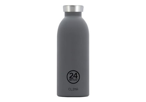 24 Bottles Clima Bottle - 0.5l - Formal Grey