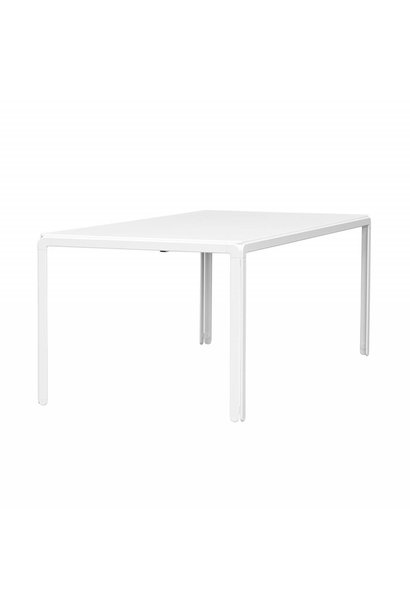 Djob table - Micro laminate - White - 140x80