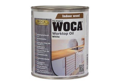 WOCA Werkbladolie wit 750ml