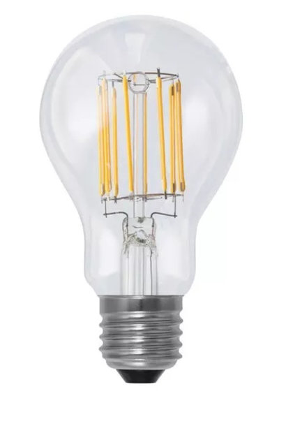 Vintage Line LED Bulb clear 8W