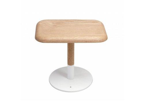 Arpel Woody Table Lamp Matt White + Oak