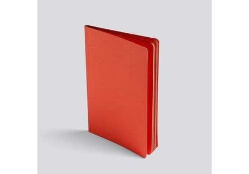 HAY Edge Notebook - Coral / Gold edges