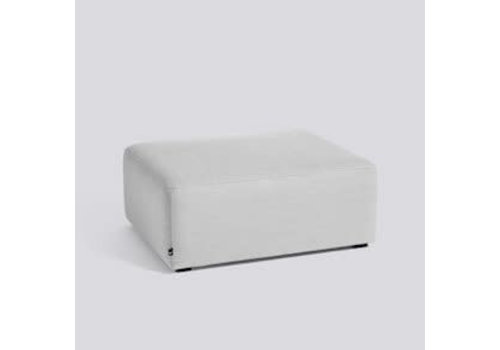 HAY Mags Soft S01 Ottoman extra small / Hallingdal 110 / black stained pinewood