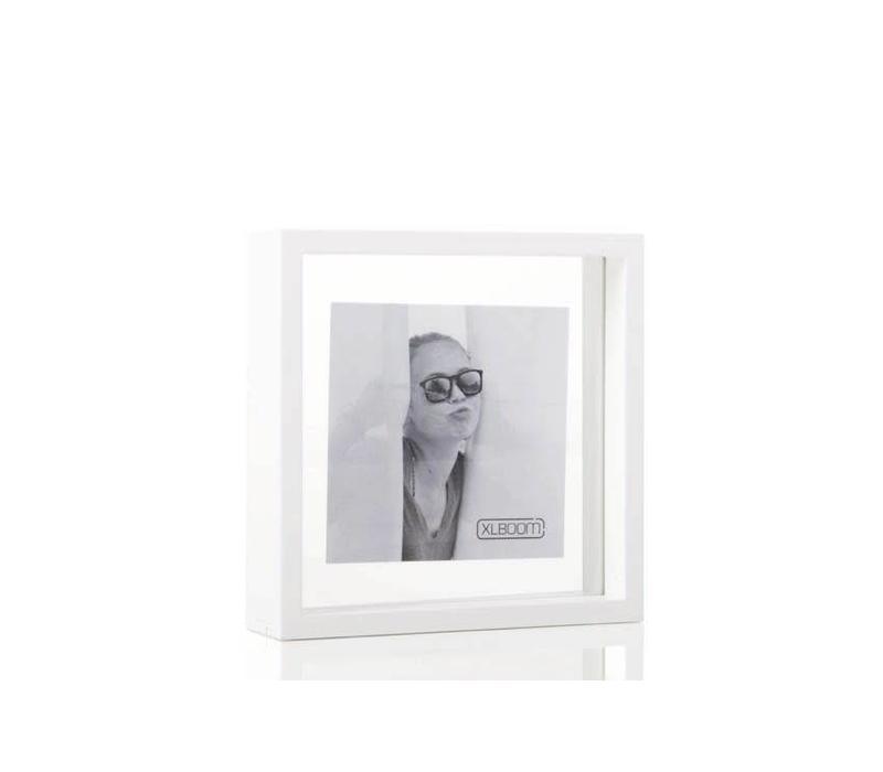 Square floating box - 20x20 - white