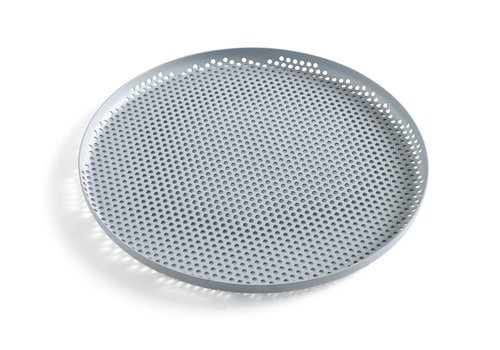 HAY Perforated tray - large - Dusty Blue