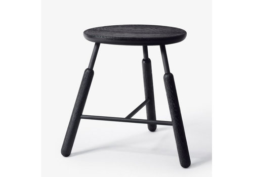 &Tradition NA3 - stool - black stained oak - H45cm