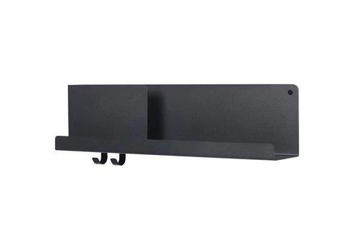 MUUTO Folded Shelves - Medium - Black