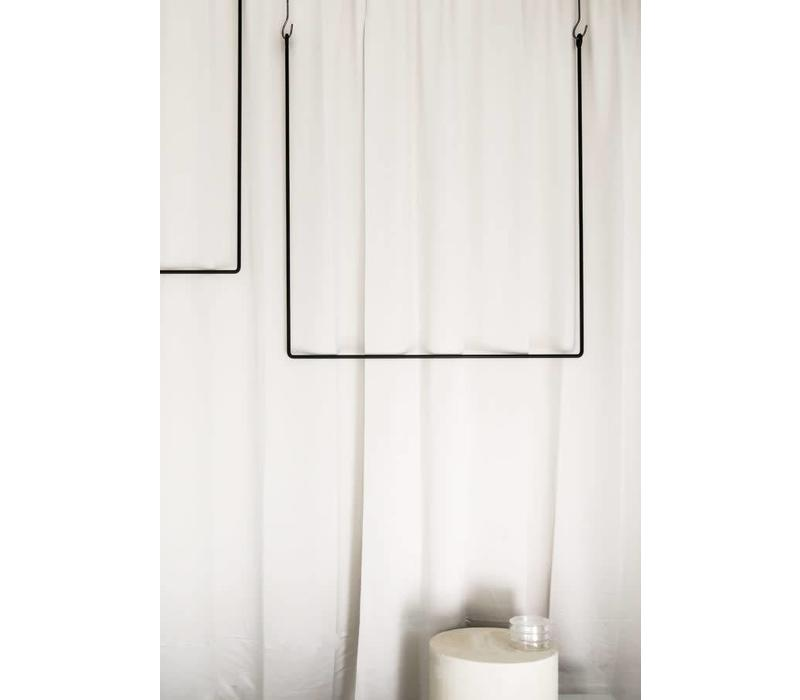 Clothing rail rectangle (naked version) 100x80