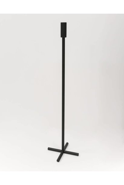 Plus Candle holder - Black
