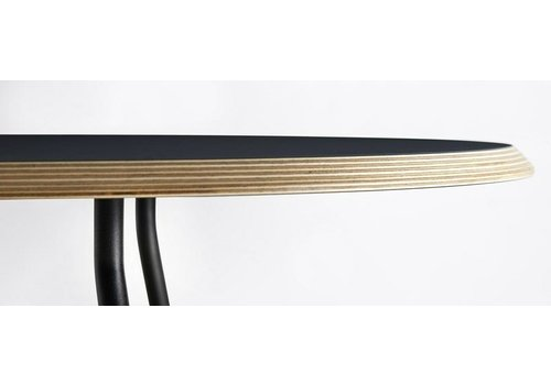 Woud Soround coffee table - Black Fenix