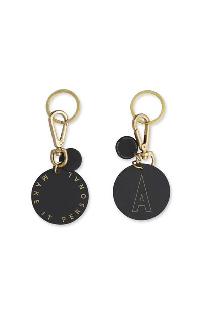Personal key ring & bag tag (A-Z)