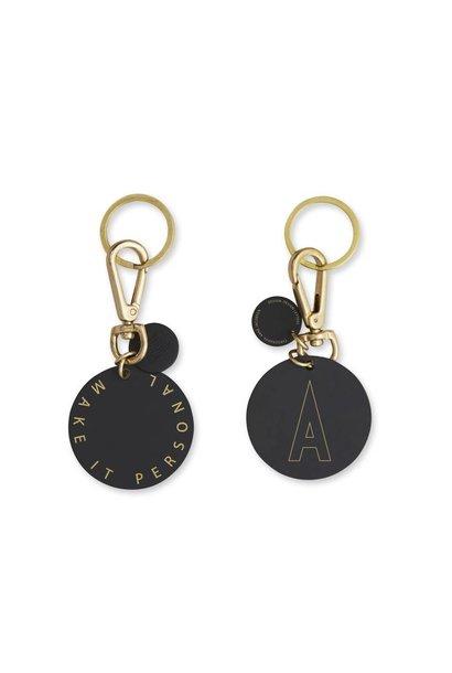 Personal key ring & bag tag (A-Z)