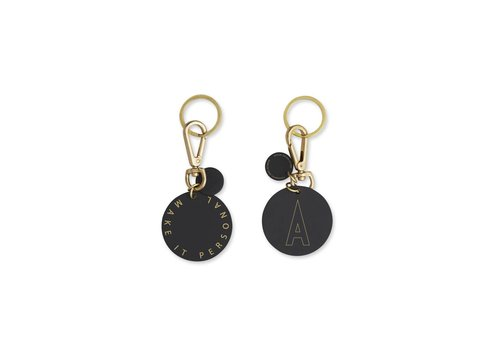 Design Letters Personal key ring & bag tag (A-Z)