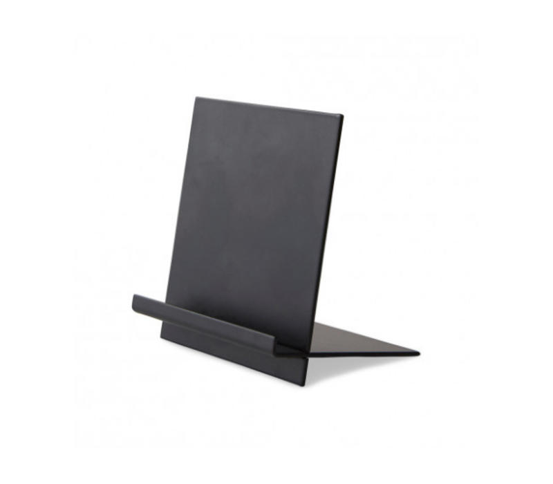 Message board stand black