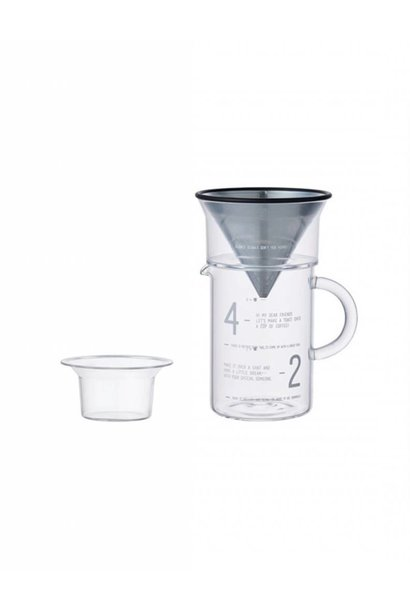 Slow coffee - jug set 600ml