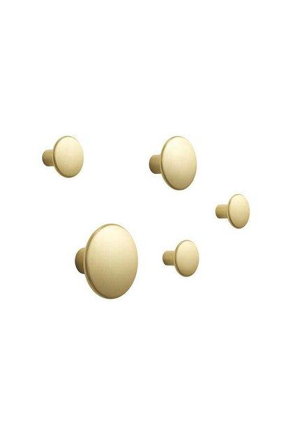 Dots Metal coat Hook / set of 5