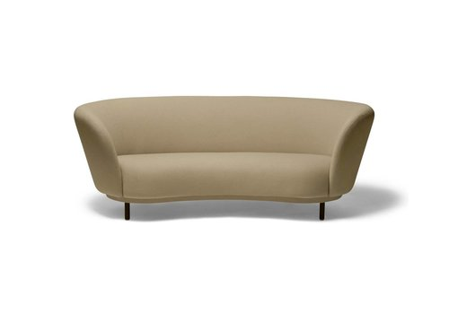 Massproductions Dandy 2-seat Sofa - Natural Oak legs