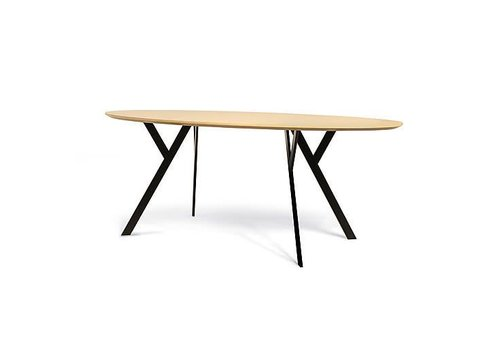 Wilde + Spieth Typus table - Oval - B200xD100