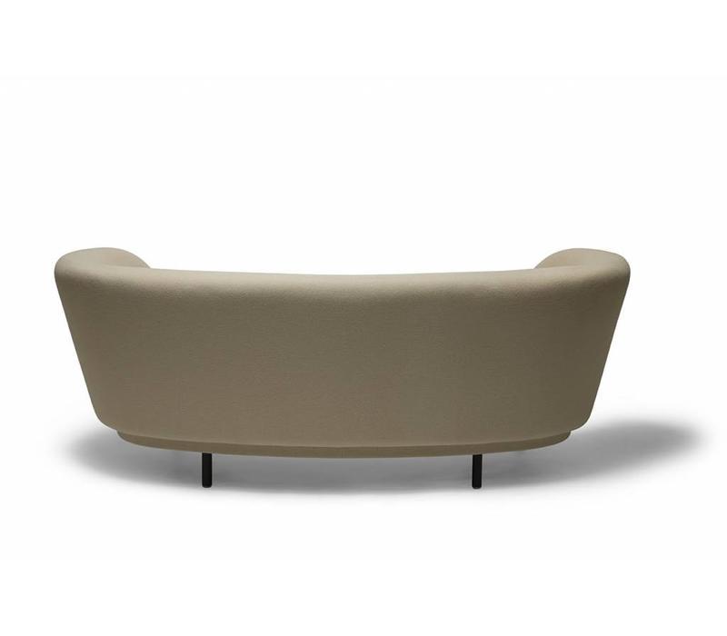 Dandy 2-seat Sofa - Natural Oak legs