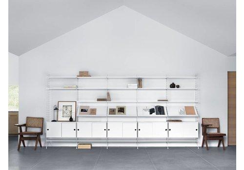 String String shelves (58 x 30 cm) - WHITE - 3 pieces